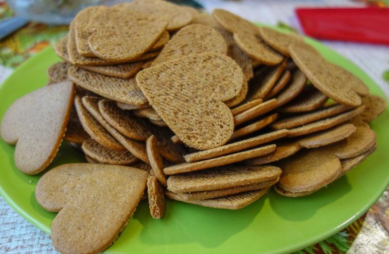 Имбирное печенье как ИКЕА