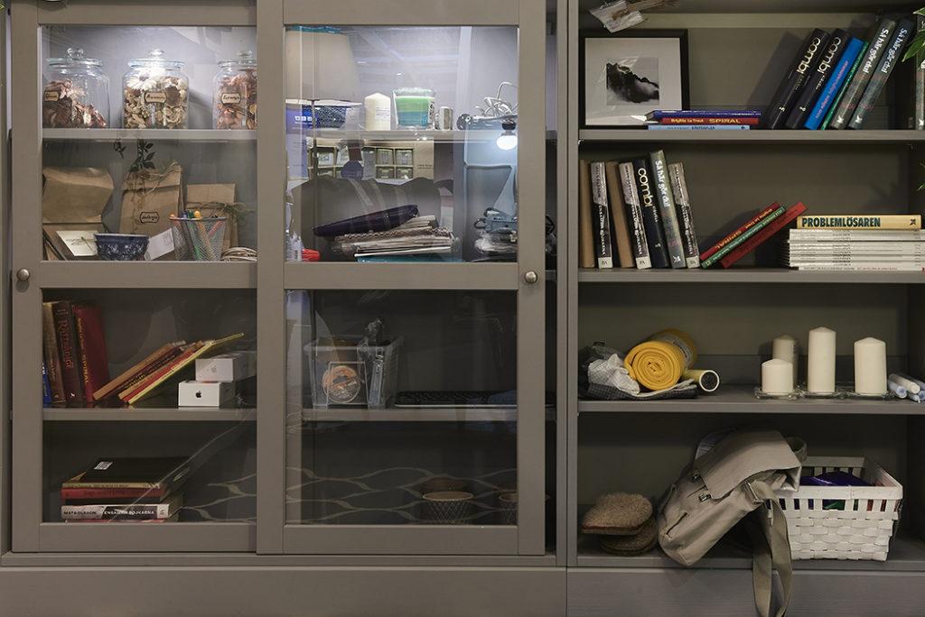 Организация пространства с ящиками из ИКЕА