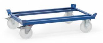 rouleur de palettes 1050kg bleu 22879